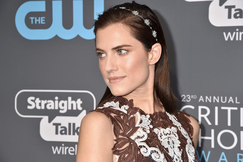 Allison Williams at the Critics Choice Awards