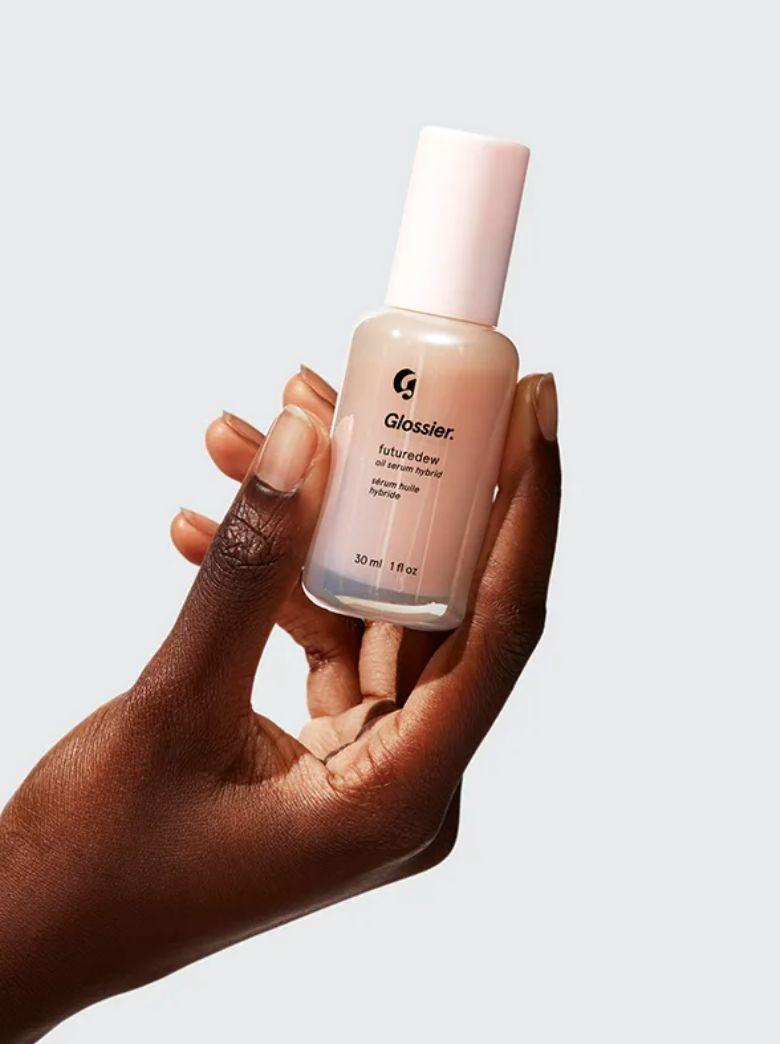 "Glossier doesn't usually do sales, so when the company did on Black Friday, our <a href=""https://www.huffpost.com/entry/cyber-week-deals-huffpost-editor-recommendations-2020_l_5fbbe205c5b68ca87f7da592"" target=""_blank"" rel=""noopener noreferrer"">editors had to shop on the site</a>. A favorite with one of our editors, the brand's <a href=""https://fave.co/3g6UrMT"" target=""_blank"" rel=""noopener noreferrer"">Futuredew</a> gives your face that dewy look that's <i>very</i> in right now. While the sale is over, this serum is worth <i>highlighting</i>. <a href=""https://fave.co/2PXgGKj"" target=""_blank"" rel=""noopener noreferrer"">Find it for $24 at Glossier</a>."