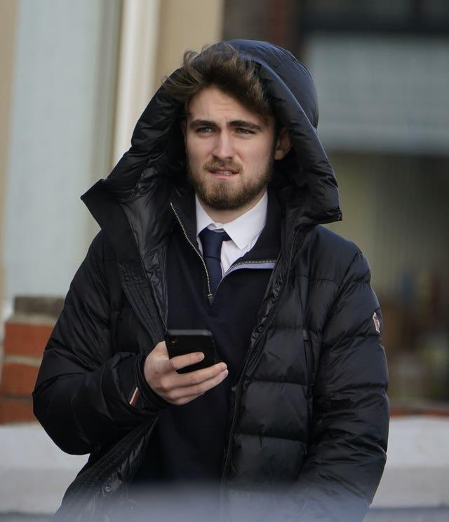 Rian Dunne outside court