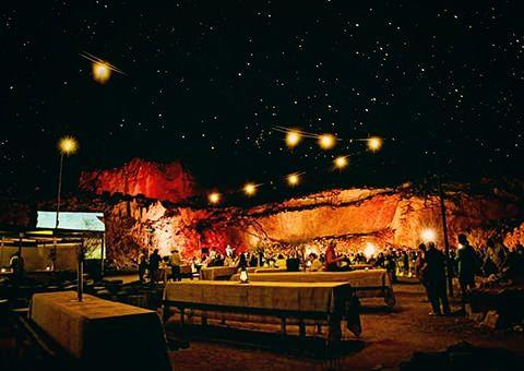 A spectacular outback barbecue under the stars in Alice Springs. Photo: Cristal Bettany for Total Travel