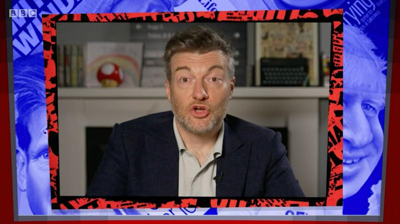 Charlie Brooker guest hosted Have I Got News For You (Photo: BBC)