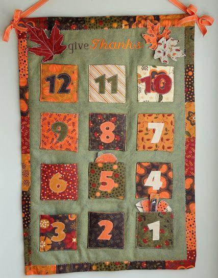 """<p>Since advent calendars shouldn't get all the fun, count down to Thanksgiving by moving the felt turkey from one pocket to the next. You can also <a href=""""https://www.polkadotchair.com/thanksgiving-advent-ideas-galore/"""" rel=""""nofollow noopener"""" target=""""_blank"""" data-ylk=""""slk:fill the pockets"""" class=""""link rapid-noclick-resp"""">fill the pockets</a> with little prizes or facts about the holiday.</p><p><em><a href=""""https://www.polkadotchair.com/thanksgiving-advent-calendar-tutorial/"""" rel=""""nofollow noopener"""" target=""""_blank"""" data-ylk=""""slk:Get the tutorial at Polka Dot Chair »"""" class=""""link rapid-noclick-resp"""">Get the tutorial at Polka Dot Chair »</a></em></p>"""