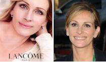 Julia Roberts: In a Lancome ad for Miracle Tint, Julia Roberts is looking noticeably smooth.
