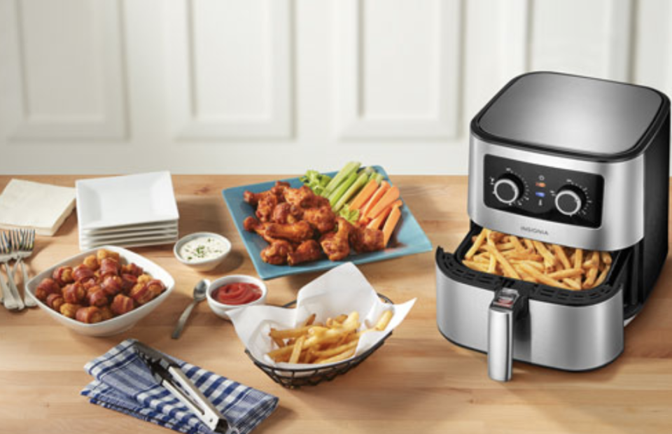 We've rounded up all the best deals from Best Buy's Anniversary Sale, including this Insignia Air Fryer.
