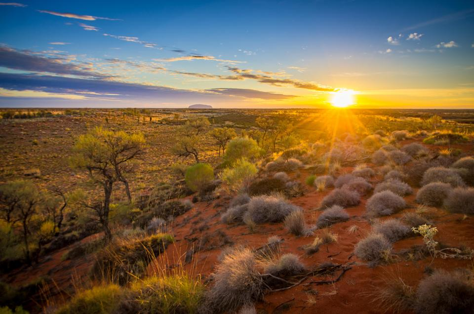 """<p>From October 26, climbing Uluru, or Ayers Rock, will be banned following a historic vote. So it's time to explore the rest of Australia's arid """"Red Centre"""". Other attractions that are nearby include Kata Tjuta, a cluster of 36 ancient rock formations, and Standley Chasm, a sheer, narrow walkable gorge. <em>[Photo: Getty]</em> </p>"""