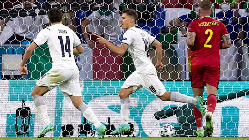 Barella in gol   Quality Sport Images/Getty Images