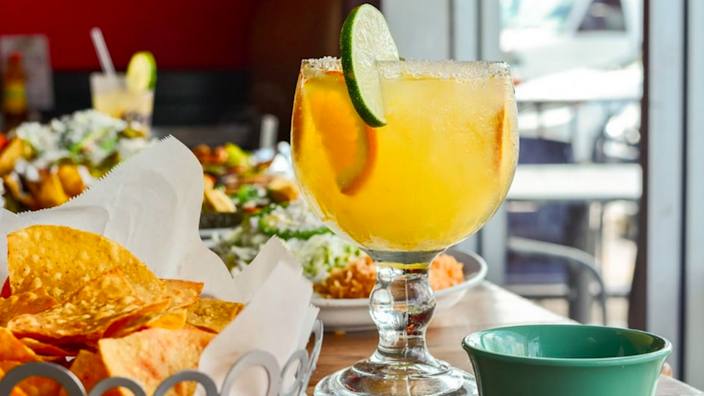 Visit the new Three Amigos location in South Charlotte for enchiladas and tacos.