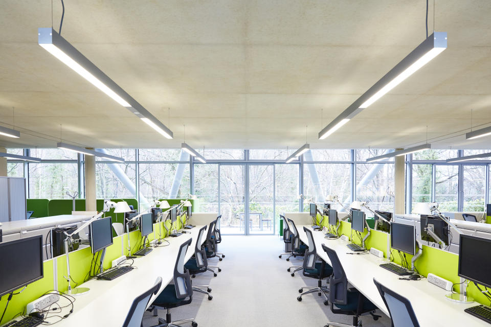 Hot desking could be a thing of the past. (Getty/Ezra Bailey)