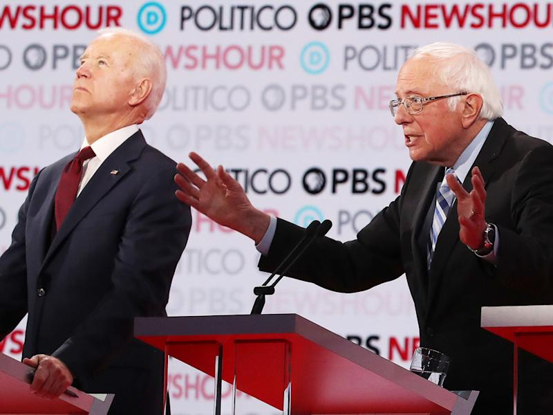 Biden, Sanders Pull Further Ahead in ABC-WaPost National Poll