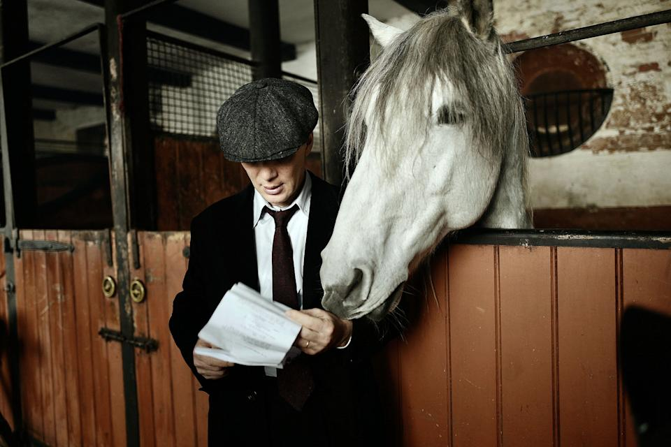 Programme Name: Peaky Blinders VI - TX: n/a - Episode: Early Release (No. n/a) - Picture Shows:  Tommy Shelby (Cillian Murphy) - (C) Caryn Mandabach Productions - Photographer: Anthony Byrne