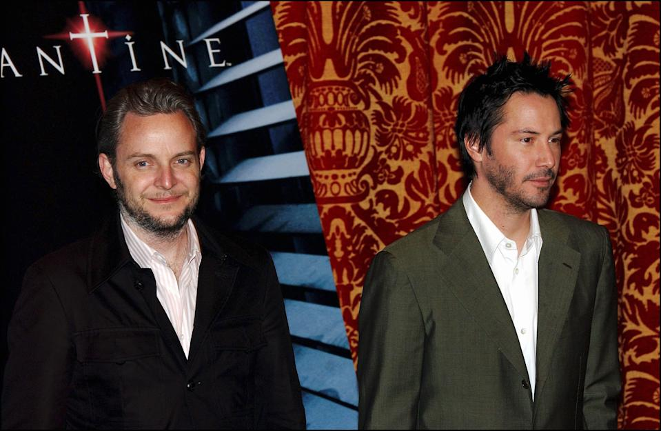 """ITALY - FEBRUARY 10:  The 40-year-old actor plays a demon-fighting supernatural detective.""""Based on the DC/Vertigo comic book """"Hellblazer,"""" """"Constantine"""" is the feature-film directorial debut of Francis Lawrence, who previously directed videos for artists like Britney Spears , Will Smith, and Aerosmith. Left: director Francis Lawrence in Rome, Italy on February 10th, 2005  (Photo by Eric VANDEVILLE/Gamma-Rapho via Getty Images)"""
