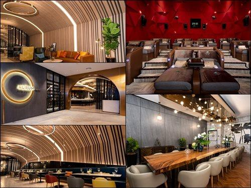 The new ultra-luxe cinema, Aurum Theatre, is a new concept by GSC.