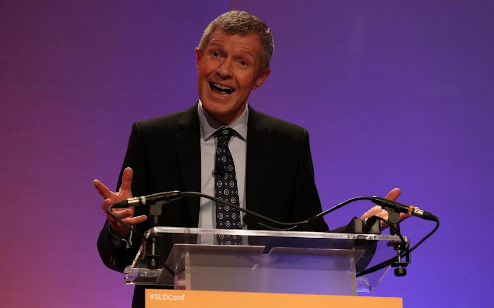 Willie Rennie, the Scottish Lib Dem leader, called for transparency over how levels will be set -  Andrew Milligan/PA