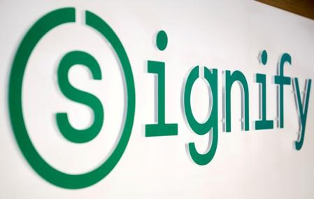 Lighting company Signify hit by economic gloom