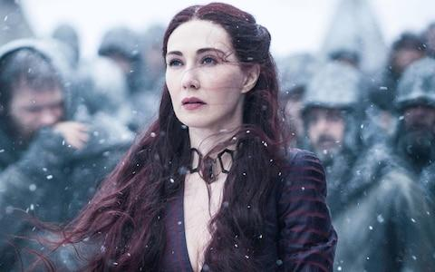 Carice van Houten as Melisandre - Credit: HBO