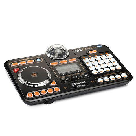 <p>Kid will feel like real DJs with this setup, which lets them turn on and off instruments, scratch, adjust the tempo and add effects. It comes with buttons, sliders, a turntable pad, a microphone and, most importantly, a party light.</p><p><em>Ages 5+<br>$55<br>Available Fall 2021</em><br></p>