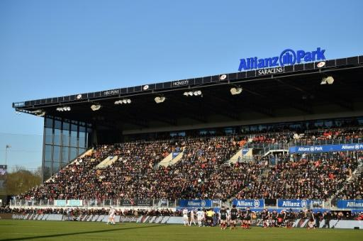 The fans came out to watch Saracens beat Racing 92 at Allianz Park in north London but next season  they will be watching less glamorous games