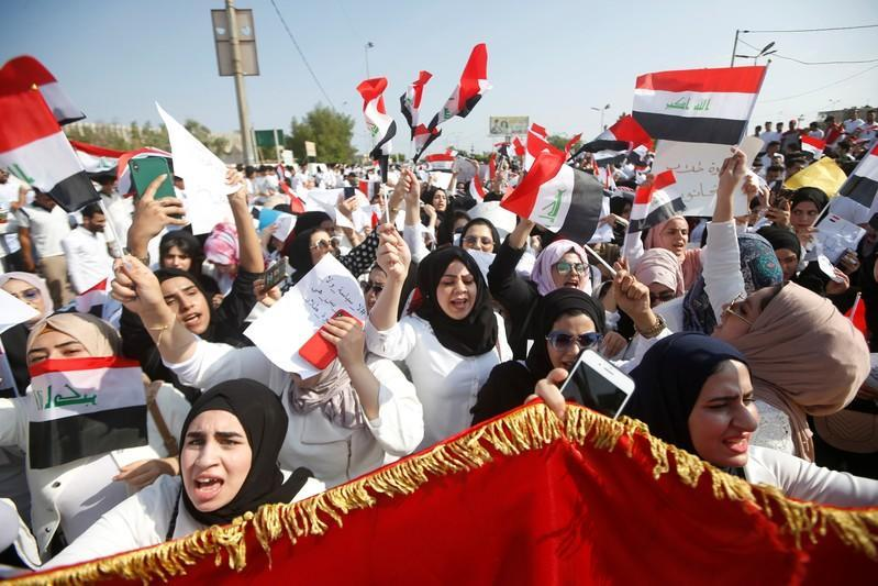 Four killed in Iraq as protests persist