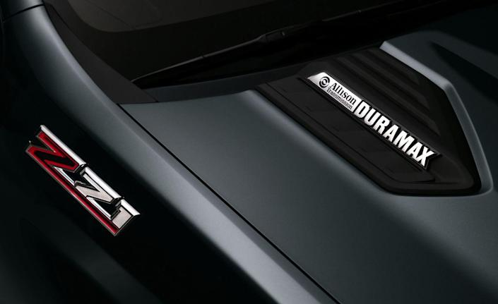 <p>As with the current Silverado HD, two powertrains are on offer: a gasoline-drinking V-8 and a turbo-diesel V-8. Full specs aren't given for either engine, but Chevrolet says the gas engine is completely new and will be paired with a six-speed automatic transmission; the current V-8 is a 6.0-liter Vortec unit that makes 360 horsepower.</p>