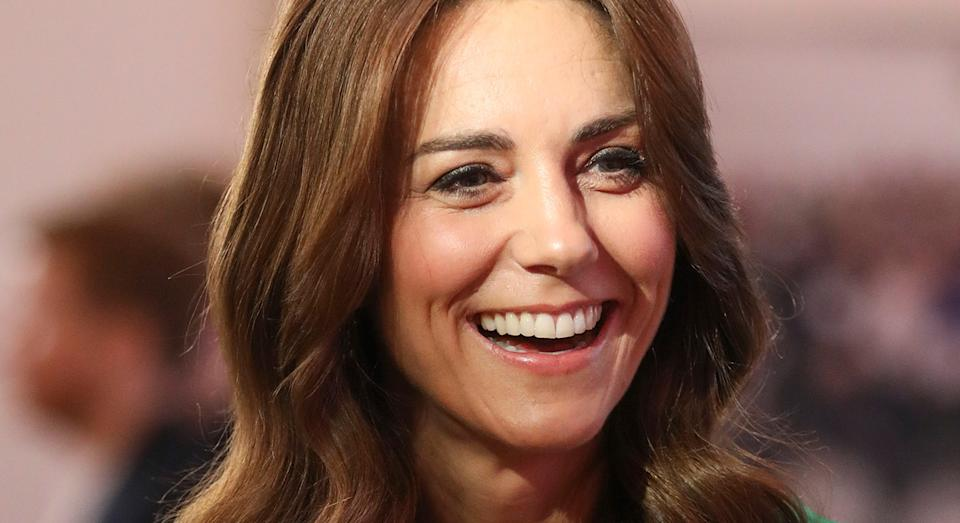 The Duchess of Cambridge has supported the British high street, debuting an affordable M&S dress. (Getty Images)