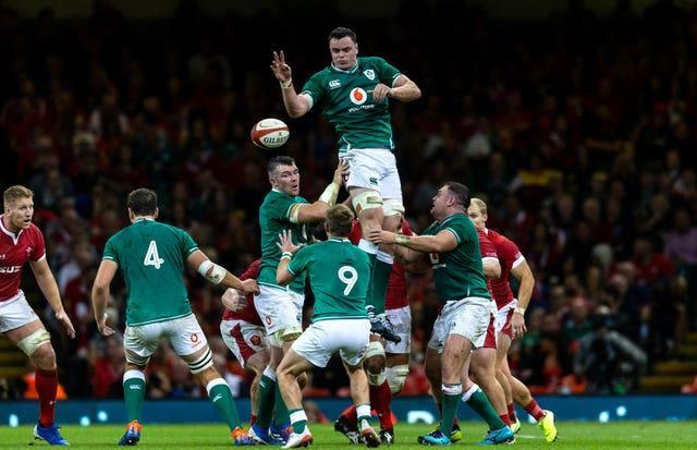 James Ryan in action for Ireland