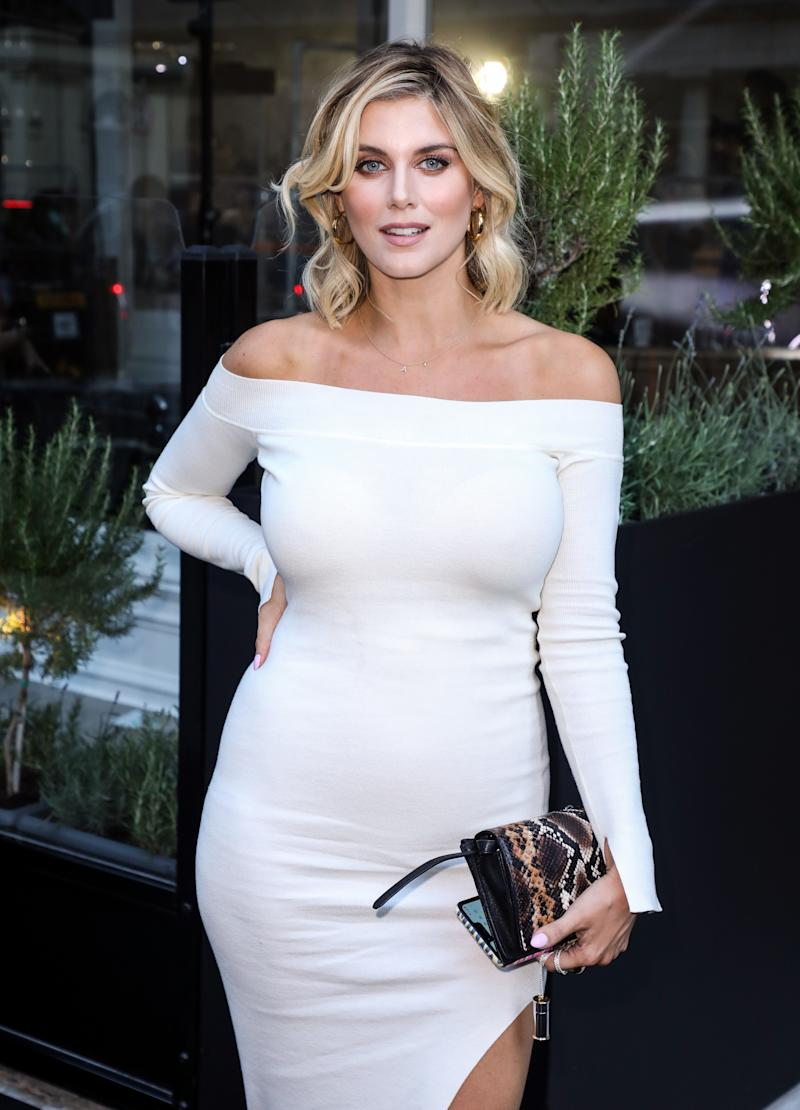 LONDON, UNITED KINGDOM - 2019/08/08: Ashley James attends the Bloomsbury Street Kitchen Restaurant Launch Party in London. (Photo by Brett Cove/SOPA Images/LightRocket via Getty Images)
