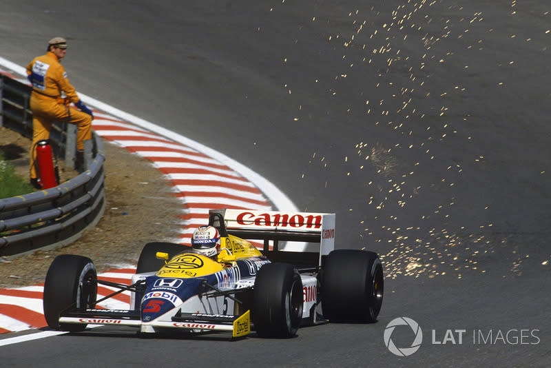 "Nigel Mansell - Williams FW11-Honda - GP de Bélgica 1986<span class=""copyright"">LAT Images</span>"
