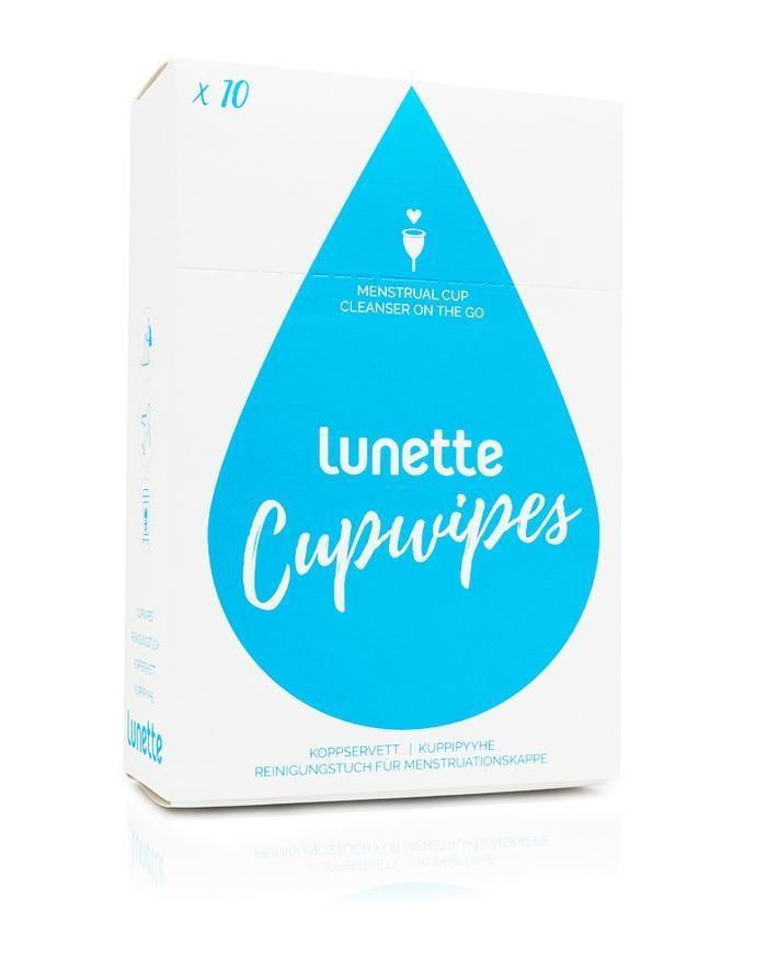 <p>The <span>Lunette Cupwipes</span> ($5 for 10 wipes) are specially formulated to thoroughly cleanse your cup - not your body. That's why the brand recommends waiting until the cup is completely dry before inserting it again. </p>