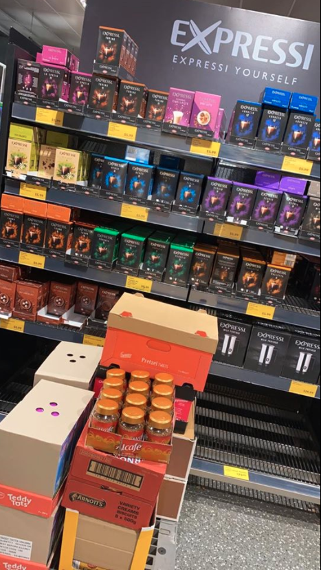 Aldi coffee pods