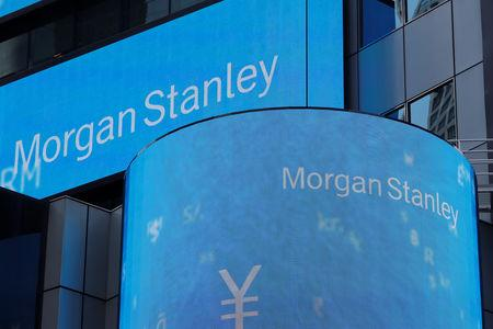 Volatile market hits Morgan Stanley's trading, wealth management