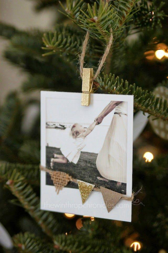 """<p>Tap into that holiday nostalgia by opting for Polaroid snapshots rather than printed photo cards. </p><p><em>Get the tutorial at <a href=""""http://www.colorsandcraft.com/blog/2015/12/homemade-polaroid-ornaments?rq=christmas"""" rel=""""nofollow noopener"""" target=""""_blank"""" data-ylk=""""slk:Colors + Craft"""" class=""""link rapid-noclick-resp"""">Colors + Craft</a>.</em></p><p><a class=""""link rapid-noclick-resp"""" href=""""https://www.amazon.com/Fujifilm-Instax-Smokey-Instant-Camera/dp/B077BFJG1Y/?tag=syn-yahoo-20&ascsubtag=%5Bartid%7C10072.g.34351112%5Bsrc%7Cyahoo-us"""" rel=""""nofollow noopener"""" target=""""_blank"""" data-ylk=""""slk:SHOP POLAROID CAMERA"""">SHOP POLAROID CAMERA</a></p>"""