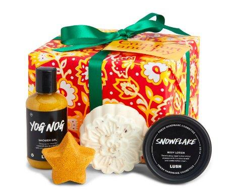 comfort and joy lush gift set