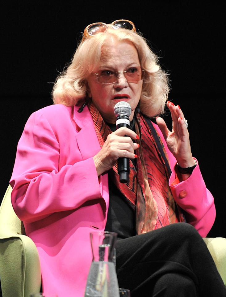 TORONTO, ON - JULY 14:  Actress Gena Rowlands attends an In Conversation at the TIFF Bell Lightbox on July 14,2011 in Toronto, Canada.  (Photo by George Pimentel/Getty Images)