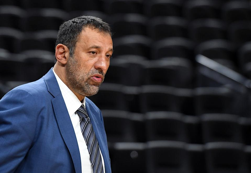 Vlade Divac reportedly resigned from his front-office job in Sacramento. (Photo by Ethan Miller/Getty Images)