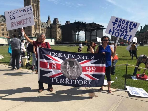 Athabasca Denesuline Final Agreement - North of 60 Facebook page/Supplied