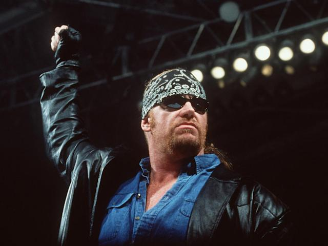 The Undertaker during his 'American Badass' gimmick (Getty)