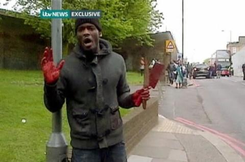 'Soldier' hacked to death in London