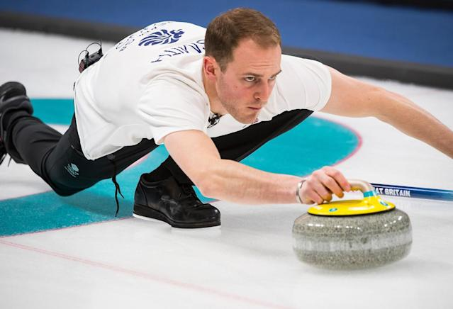 Kyle Smith claimed just a handful of shots made the difference as his team exited the Olympic curling tournament in the tiebreakers (picture Andy J Ryan/Team GB)