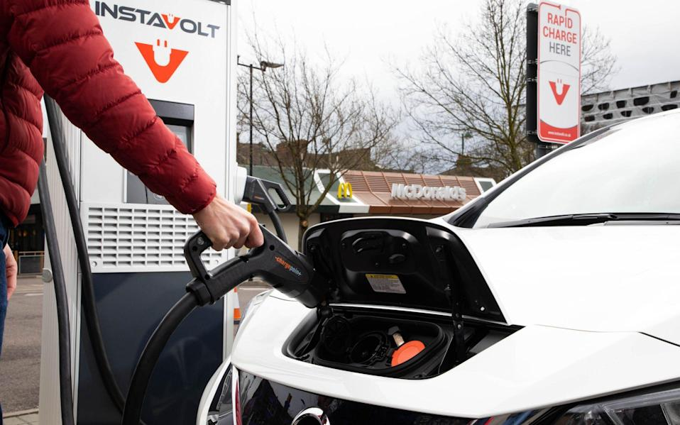 The measures would be chiefly used to target electric vehicle chargers - David Parry/PA