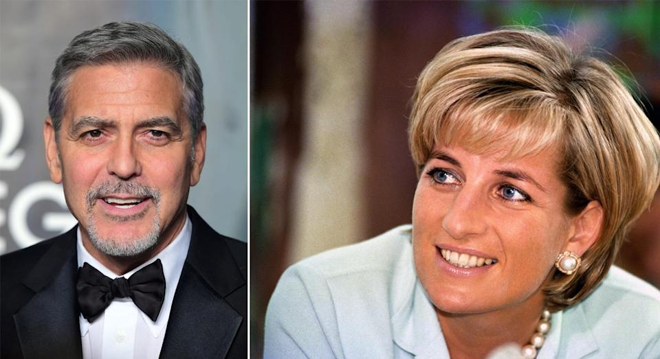 In 1997, George Clooney gave a speech blaming the press for Diana's death [Photo: PA]