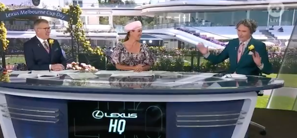 channel 10 melbourne cup