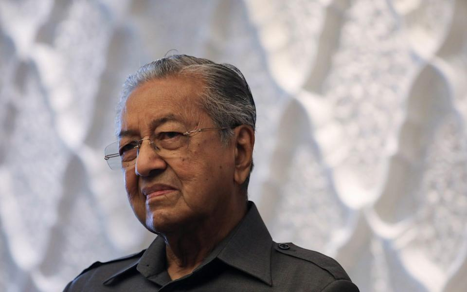 Malaysia's former Prime Minister Mahathir Mohamad - REUTERS/Lim Huey Teng