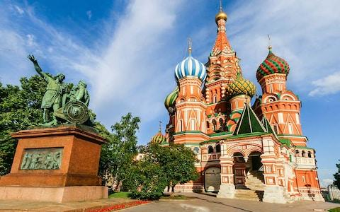 St. Basil's Cathedral, just off Red Square - Credit: © 2012 Pola Pablo Damonte/Pola Damonte via Getty Images