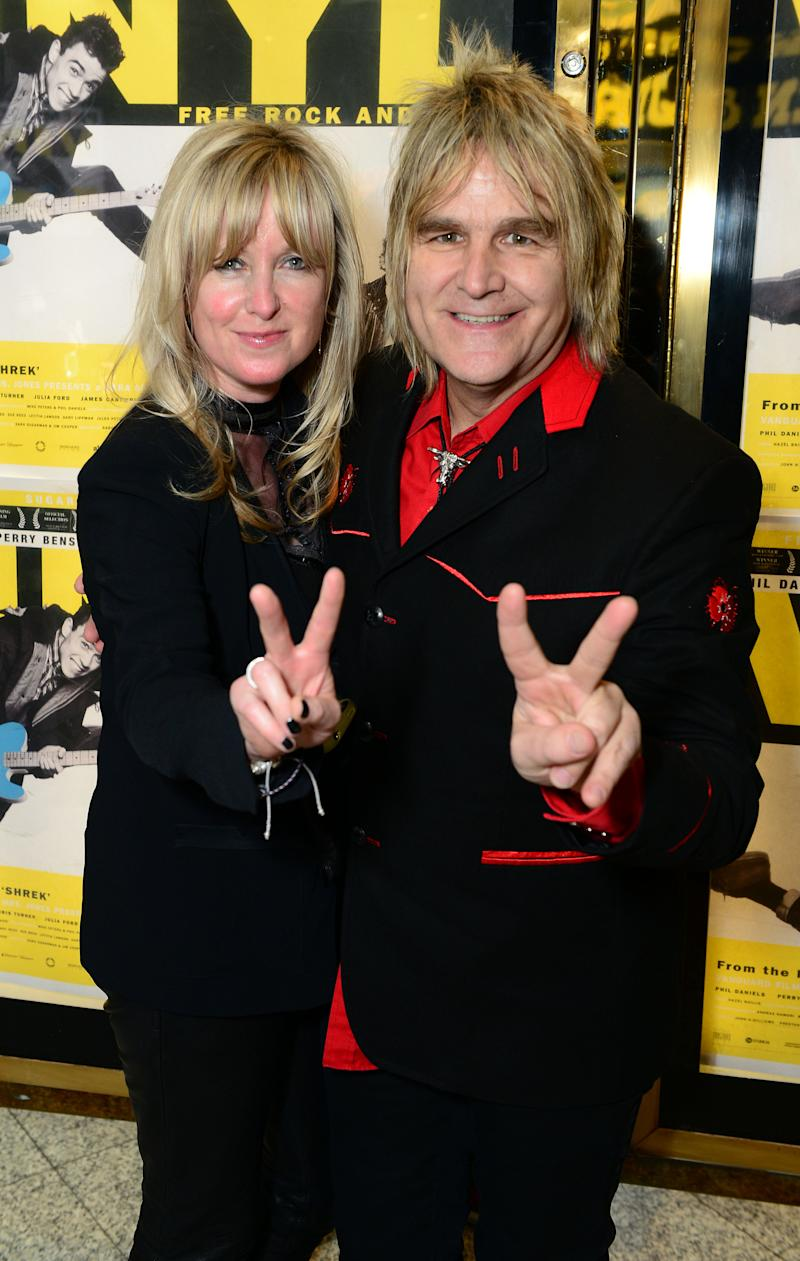 Rock 'n' roll couple Mike and Jules Peters's incredible cancer story: 'We  have to laugh about it'