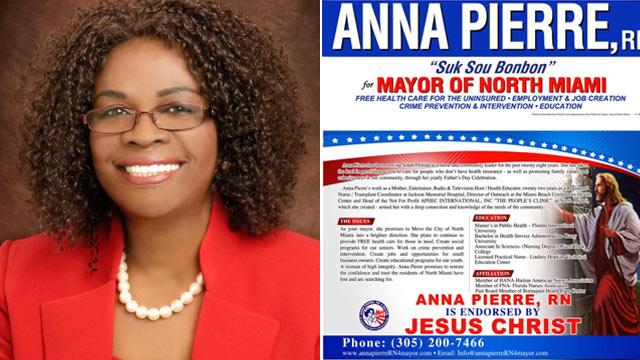 Mayoral Candidate Claims Jesus Endorsed Her