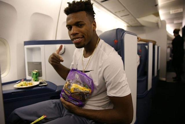 Buddy Hield brings more than just snacks to the Pelicans. (Getty Images)