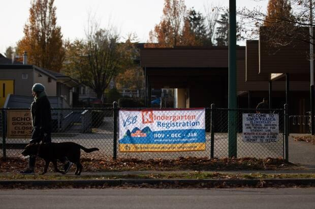 Simon Fraser Elementary is one of several schools in the centre of Vancouver facing a wait list for Kindergarten spots.