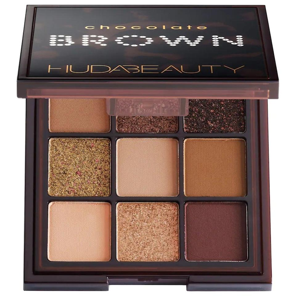 <p>You can't go wrong with a trusted neutral palette and the <span>Huda Beauty Brown Obsessions Eyeshadow Palette</span> ($29) has three different shade variations. Whether they like to go glam or keep it simple, this eyeshadow palette will be put to use all year long. </p>