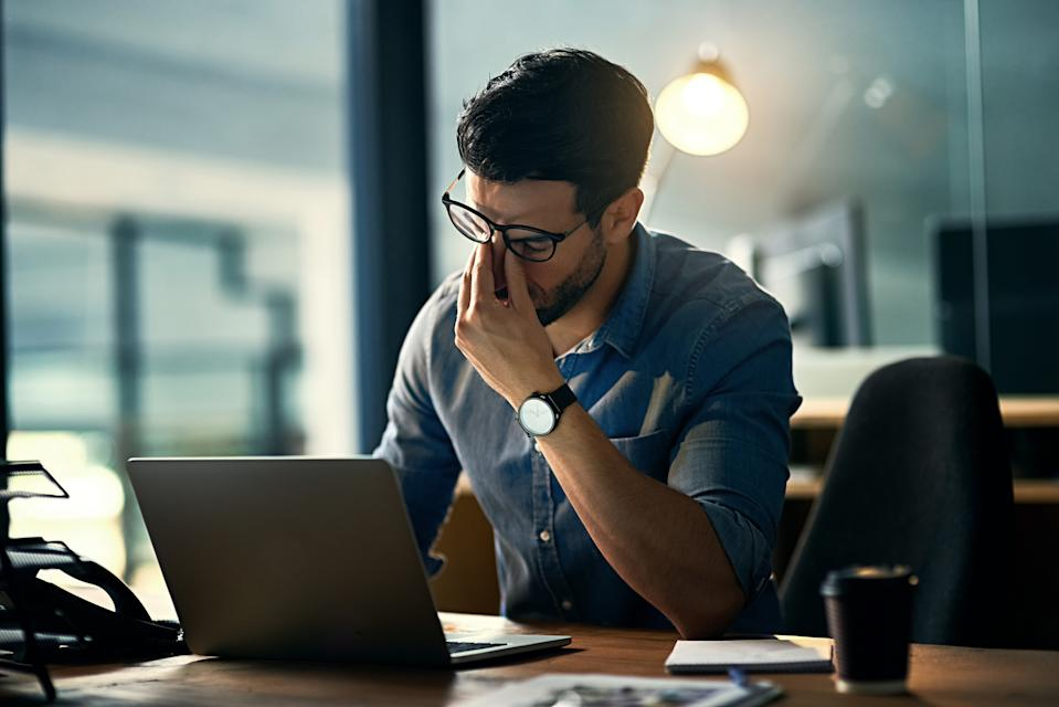 The study found those who worked longer than 35 hours per week had an increased risk of suffering from hypertension [Photo: Getty]