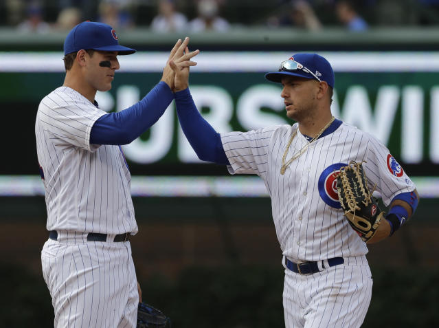How about this over the next nine games for the Cubs: Tigers, Reds, Mets. (AP)